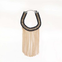 Necklaces : Tassel & Chain Necklace