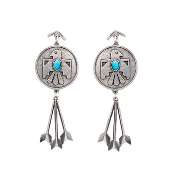 Cher's Thunderbird Earrings