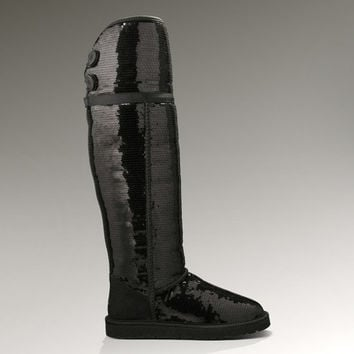 UGG® Over the Knee Bailey Button Sparkles | Thigh High Sequin Boots at UGGAustralia.com