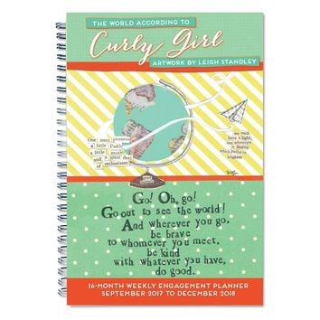 2018 Curly Girl Daily Planner