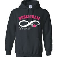 Basketball Infinity Love Forever Hoodie