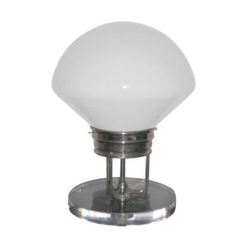 Pre-owned  Milk Glass Table Lamp