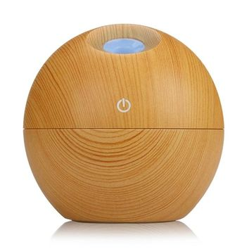 Mini Woodgrain Led Diffuser