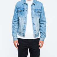 Topman Bleach Wash Denim Western