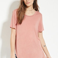 Contemporary Slub Knit Tee | Forever 21 - 2000185847
