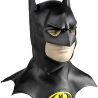 Rubie's Costume Batman Movie Deluxe Overhead Mask with Cowl, Black, One Size