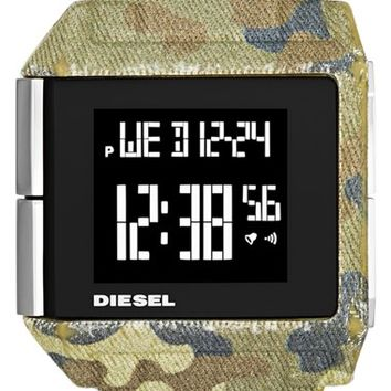 Men's DIESEL 'Big Bet' Digital Bracelet Watch, 41mm x 46mm - Camoflage