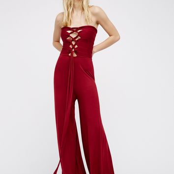 Free People Adeline Romper