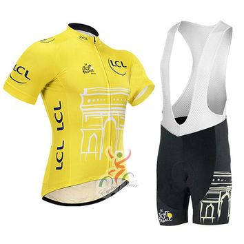 Tour de France Cycling Jersey bike short uniform quick dry MTB Ropa Ciclismo pro cycling clothing mens bicycling Maillot Culotte