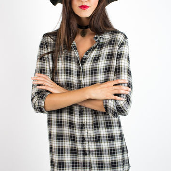 Velvet Heart Mya Plaid Dress