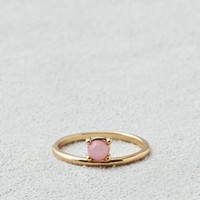 AEO Pink Stone Ring , Silver | Aerie for American Eagle