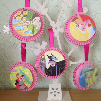 Vintage Felt Disney Decorations - Sleeping Beauty Set