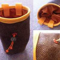 Tweed Chalk Bag for Climbing