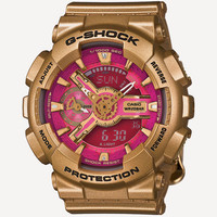 G-Shock S Series Gmas110 Watch Gold One Size For Women 26572162101