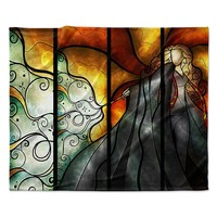 "Mandie Manzano ""Expecto Patronum"" Harry Potter Fleece Throw Blanket"