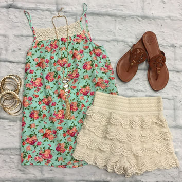 In the Park Floral Tank Top