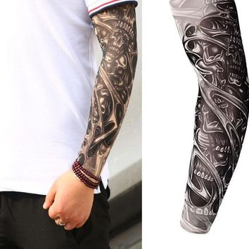 Unisex Tattooed Arm Sleeves