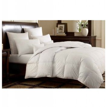 WHITE GOOSE DOWN ALTERNATIVE COMFORTER
