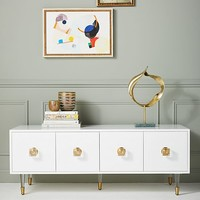 Lacquered Regency Media Console