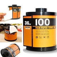 Orange Film Roll Toilet Paper Holder - PFTPHOLDERB