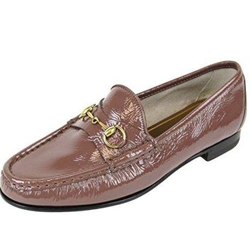 Gucci Women's 1953 Patent Leather Horsebit Loafer 338348