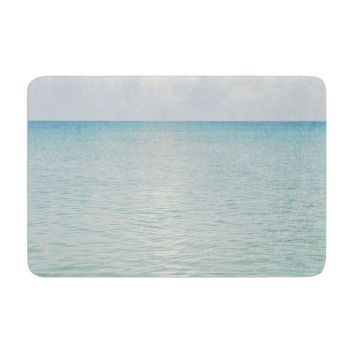 "Catherine McDonald ""Cloud Reflection"" Memory Foam Bath Mat"
