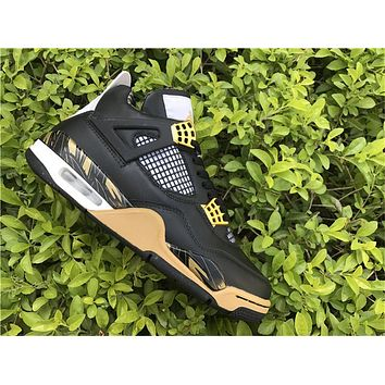 Air Jordan 4 Retro AJ4 724142 Wings Shoes 40-47