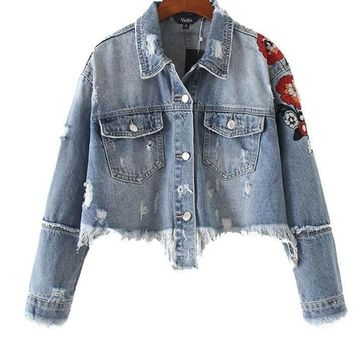 Denim is Cool Jacket, All sizes