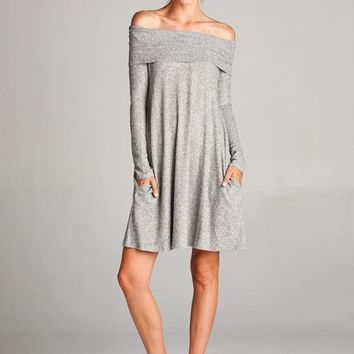 The Parker Off the Shoulder dress