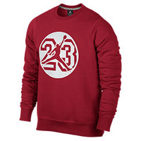Men's Jordan Graphic Fleece Crew Sweatshirt