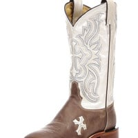 Tony Lama Women's Tan Tuscan Goat Boot