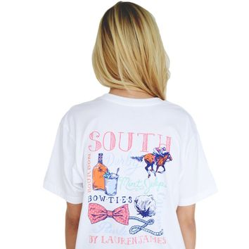 The South Tee in White by Lauren James - FINAL SALE
