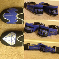 Custom Hand Painted Toms Shoes Allstar Cheer Team or Any Sports Team Made To Order (with rhinestones)