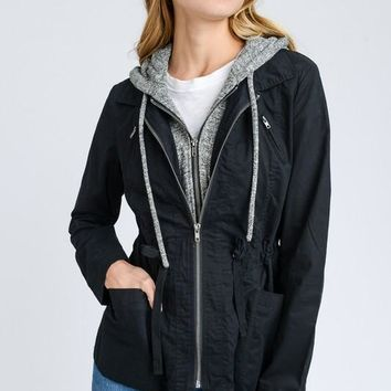 Shades of Autumn Jacket - Black