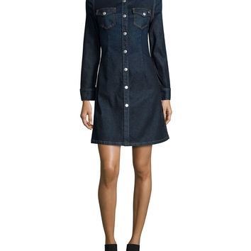 The Pixie Denim Shirtdress, Lonestar, Size: