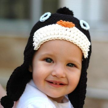 Penguin Hat 24 Years by beliz82 on Etsy
