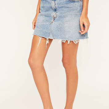 Urban Renewal Vintage Re-Made Levis Denim Mini Skirt - Urban Outfitters