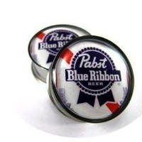 Pabst Picture Plugs gauges  00g 1/2 9/16 by mysticmetalsorganics