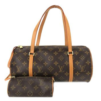 Louis Vuitton Monogram Canvas Papillon GM Shoulder Bag Brown M51385