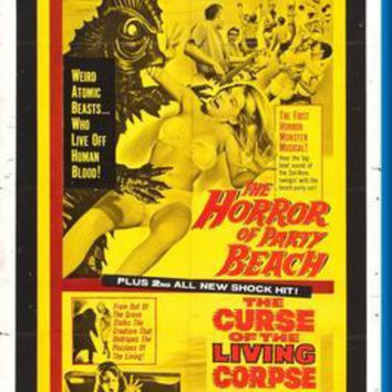 """Horror Of Party Beach poster 24""""x36"""""""