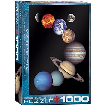 EuroGraphics Nasa Solar System 1000 Piece Puzzle