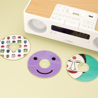 Smile CD Deco Sticker