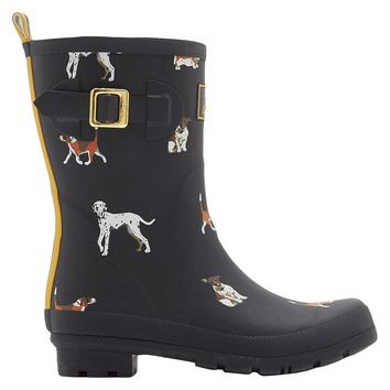 Women's Joules Wellyprint Rain Boots - Multi-Colored