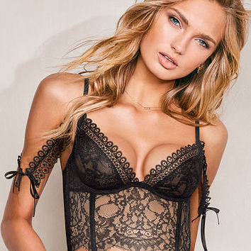 Lace Off-the-Shoulder Bustier - Very Sexy - Victoria's Secret