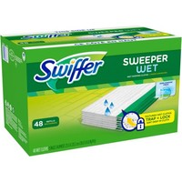 Swiffer Sweeper Wet Mopping Pad Refills, Fresh Scent, 48 Count - Walmart.com