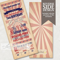 Sports Invitation - Printable Birthday or Baby Shower Invite