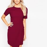 Oasis Asymmetric Wrap Dress