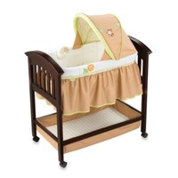 Summer Infant® Swingin Safari Classic Comfort Wood Bassinet in Espresso