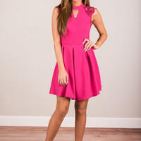Natural Zest For Life Dress, Fuchsia