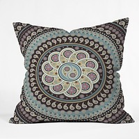 Belle13 Mandala Paisley Throw Pillow